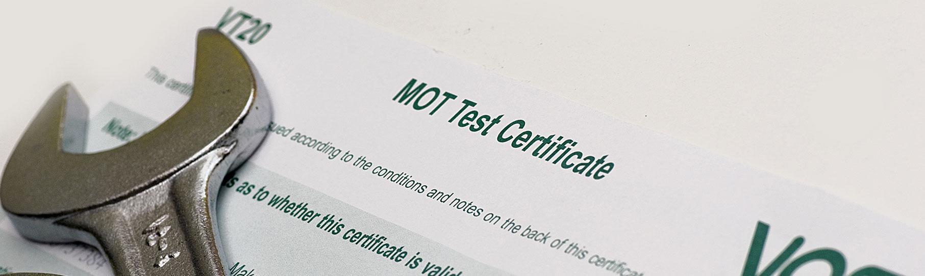 Do I Need To Keep My Mot Certificate Titan Hull